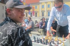 Regensburg: Day of Chess am Bismarckplatz