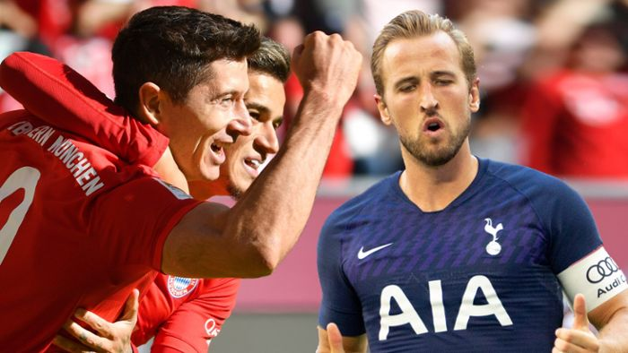 Champions League: Lewandowski vs. Kane: Duell der Torjäger