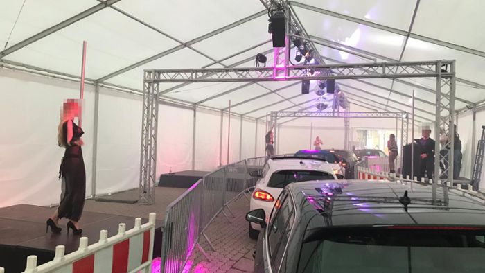 Strip-Drive-Through in Landshut: Nackte Haut durchs Autofenster