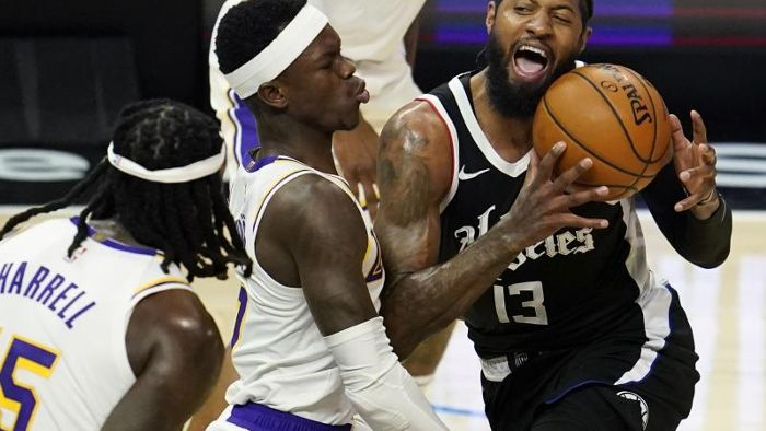 Basketball: L.A.-Derby in der NBA: Lakers chancenlos gegen Clippers