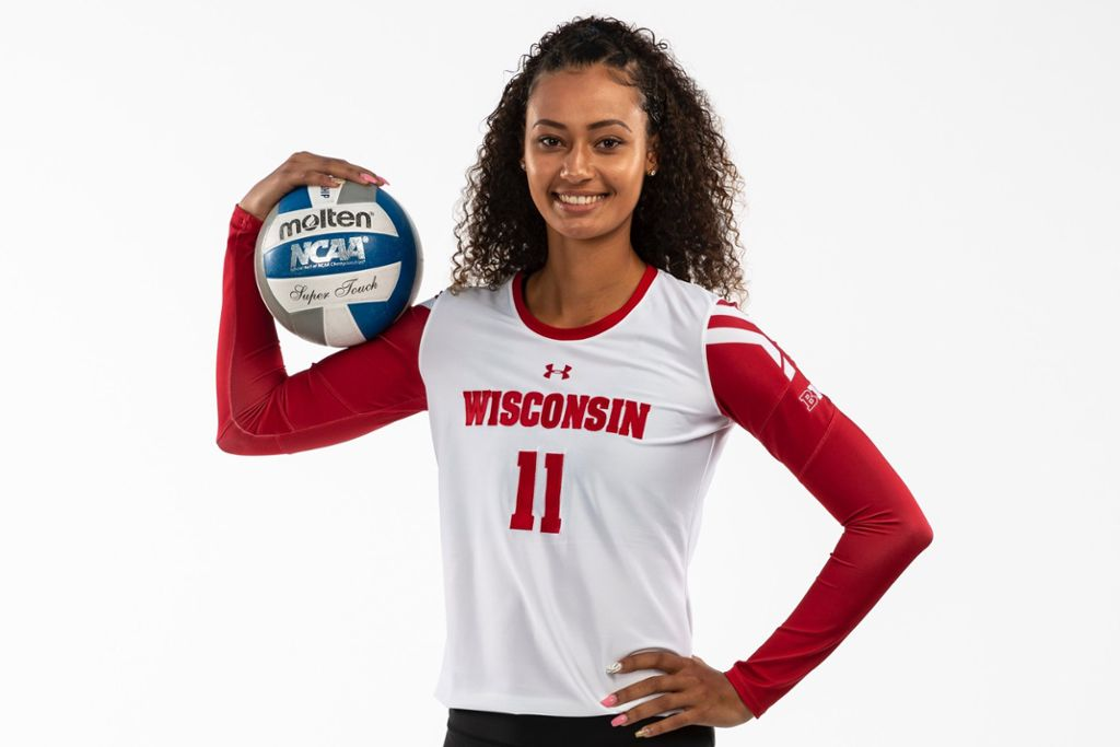 Tionna Williams wechselt von den Wisconsin Badgers zu NawaRo Straubing. Foto: Wisconsin Badgers