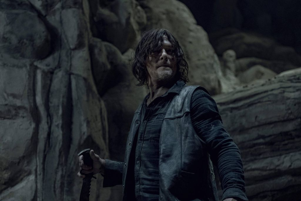 Norman Reedus, The Walking Dead Season 10 (2019) Foto: imago/Jace Downs / AMC / The Hollywood Archive Los Angeles CA