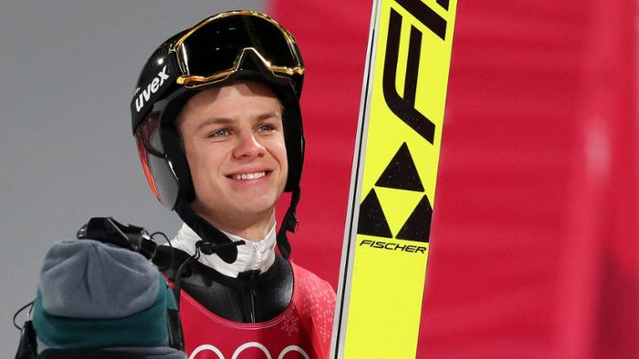 Olympia 2018 in Pyeongchang: Andreas Wellinger gewinnt Skisprung-Quali